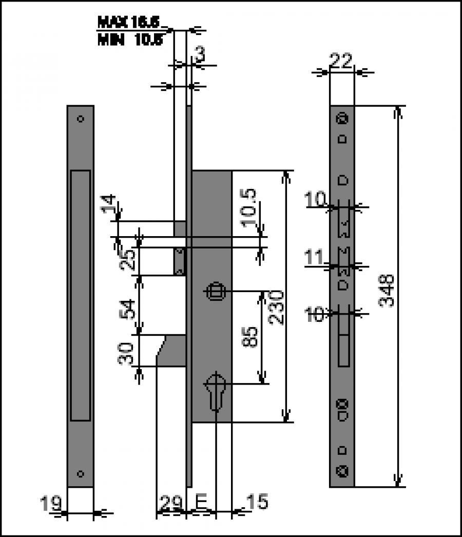 Istruzioni Montaggio Serratura Cisa Serratureonline.it - Serrature e cilindri di alta sicurezza ...
